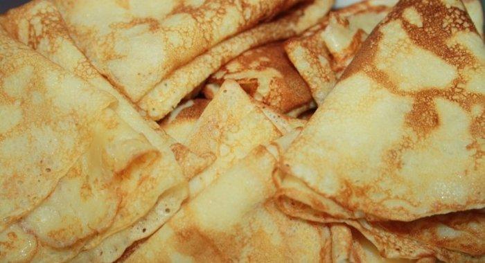 Блины рецепты тонкие на кефире рецепт пошагово