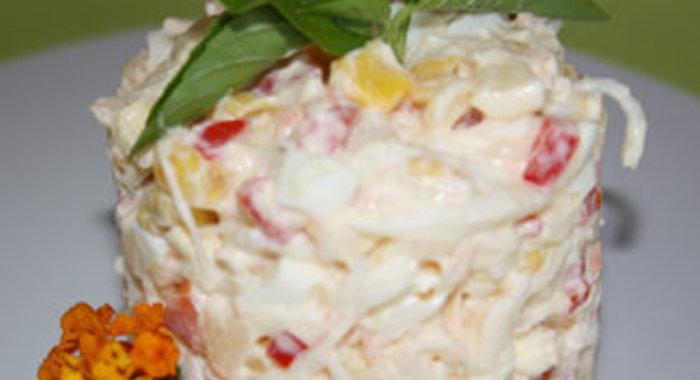 Несложные салаты пошагово с фото
