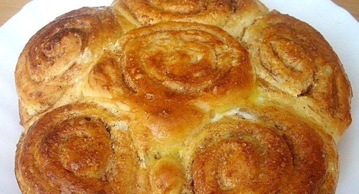 Пирог с корицей рецепт с фото пошагово в духовке