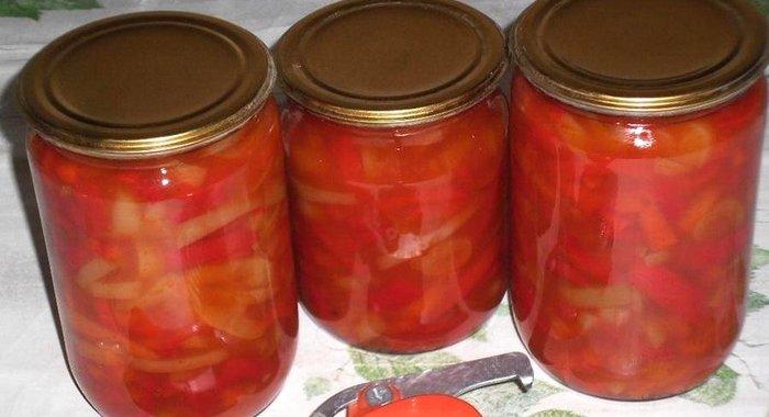 Из болгарского перца на зиму рецепты с пошагово в