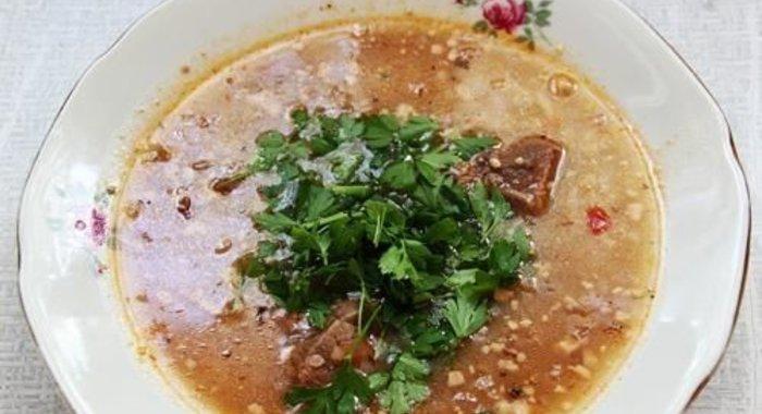 харчо из говядины пошаговый рецепт с фото