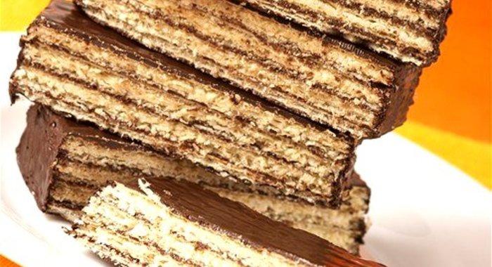 Рецепт вафельного торта пошаговый рецепт с