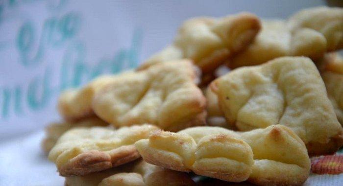Печенье гусиные лапки рецепт пошагово