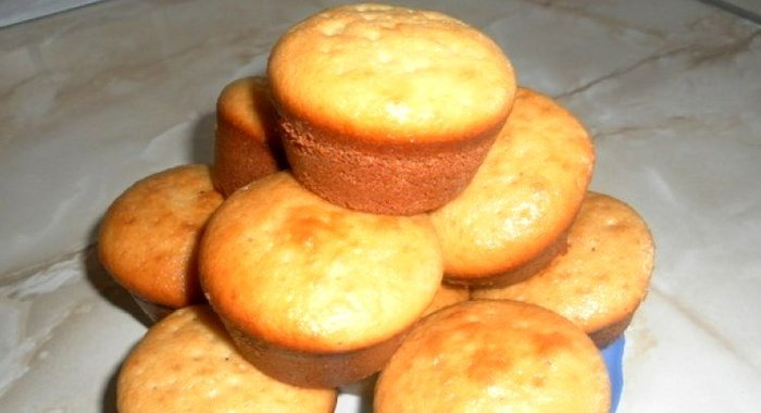 Кексы рецепты простые в формочках на молоке пошаговый рецепт с фото