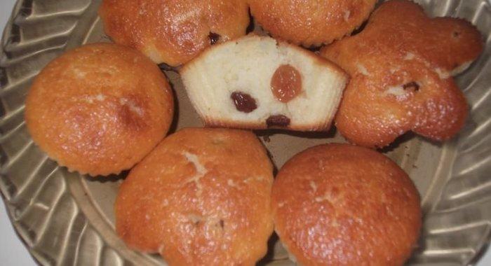 Кексики с изюмом рецепт с фото пошагово простой рецепт