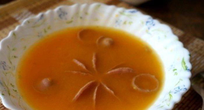 Суп из тыквы с курицей - пошаговый рецепт с фото на Повар.ру
