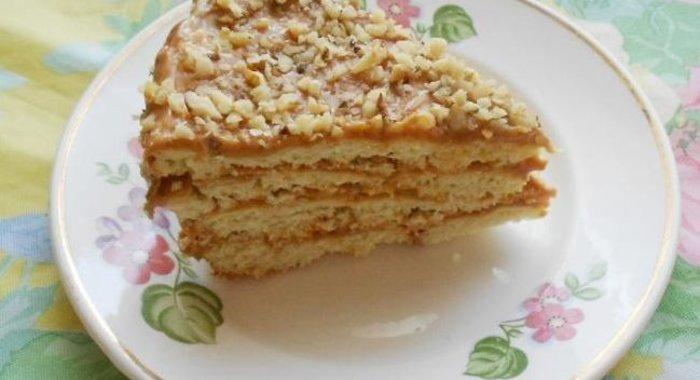 Рецепт песочного торта с фото