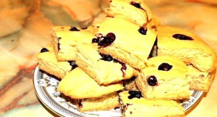 Рецепт пирога с смородиной на кефире рецепт с