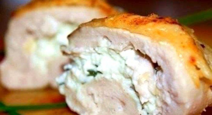 Куриные рулетики с сыром пошаговый рецепт