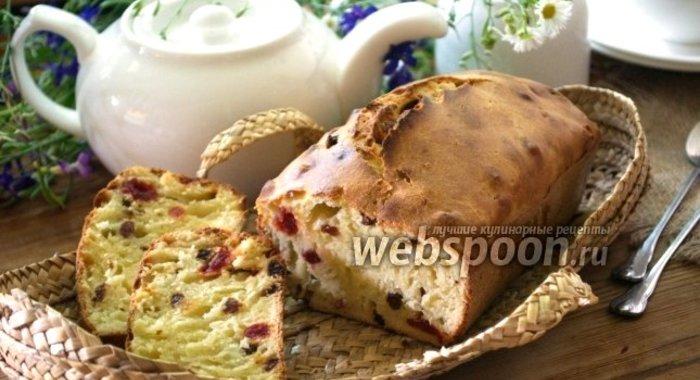 рецепт кекса кефире изюм фото