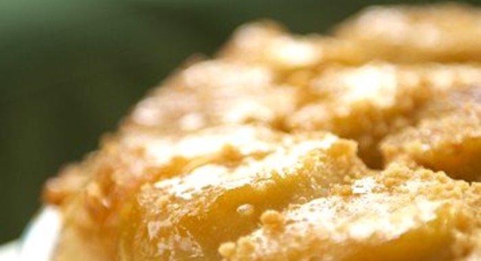 Песочный пирог с карамелью рецепт