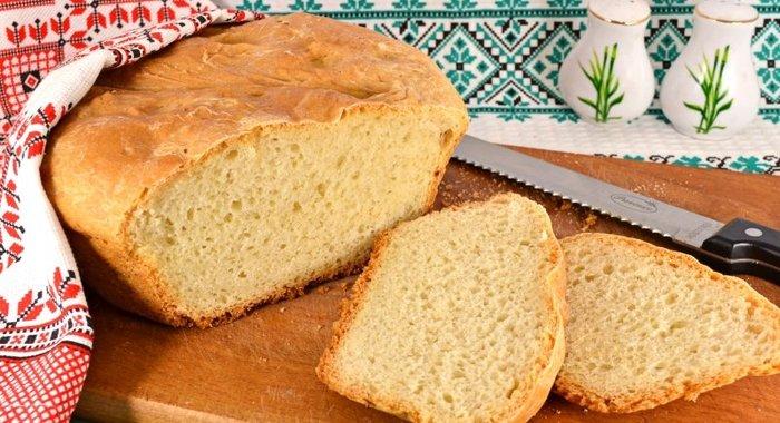 Рецепт белого хлеба простой