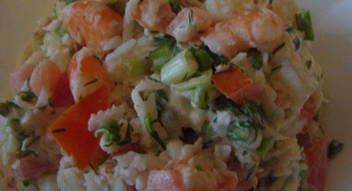 Салат воздушный рецепт с курицей