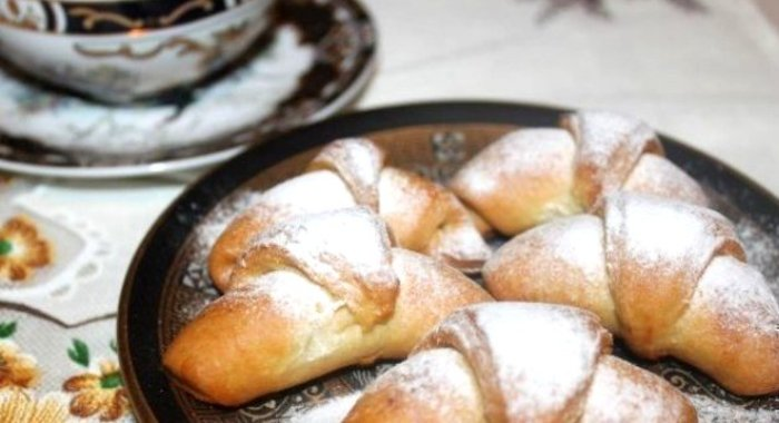 Рогалики рецепт с фото пошагово дрожжами