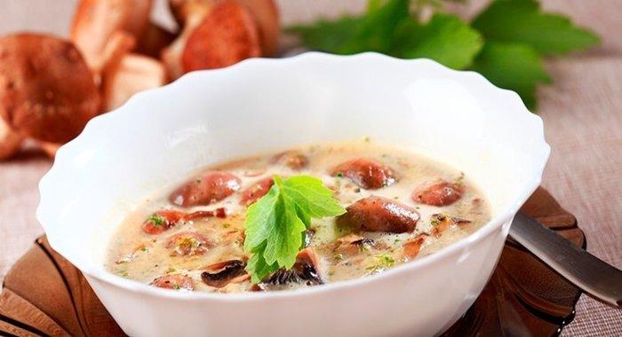 Суп из рыжиков рецепт пошагово