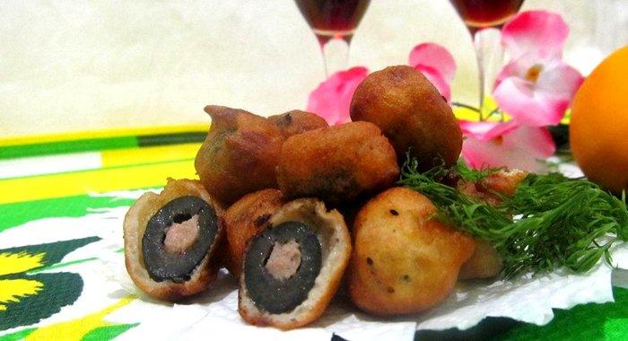 Фаршированные оливки рецепт пошагово