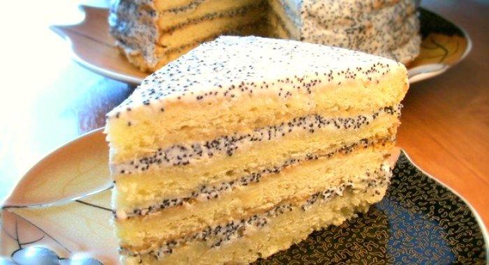 Рецепт торта классический сметанник