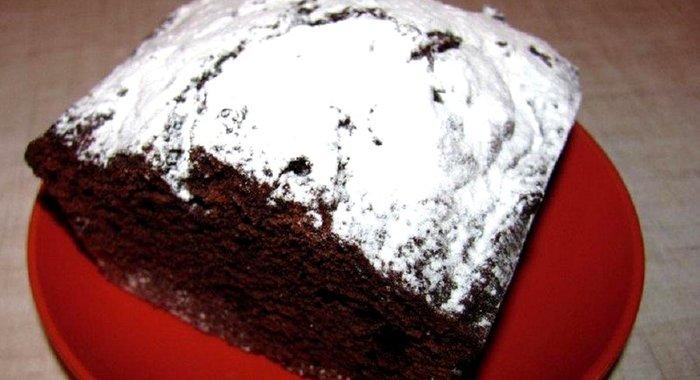 Шоколадный кекс влажный рецепт с пошагово