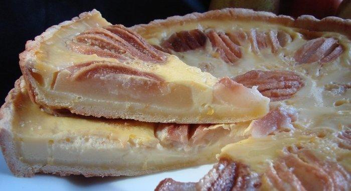 Пирог с грушей в духовке пошаговый рецепт с фото