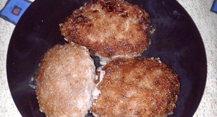 Котлеты из куриного фарша рецепт с пошаговым фото