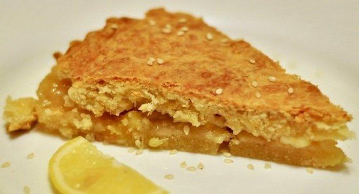 Лимонный пирог песочный рецепт с фото пошагово