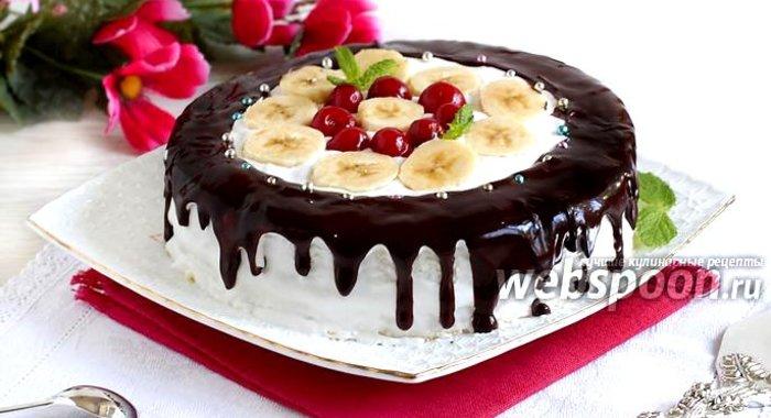 Фруктовый торты рецепт с фото пошагово в домашних условиях