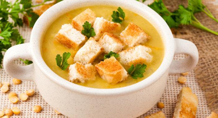 Чечевичный крем суп рецепт с фото