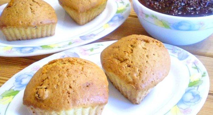 Кексы на кефире рецепты в силиконовых формочках с пошагово простой