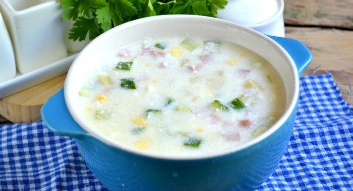 Простыеы холодных супов