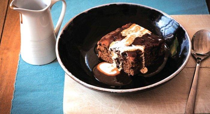 Шоколадный брауни просто кухня