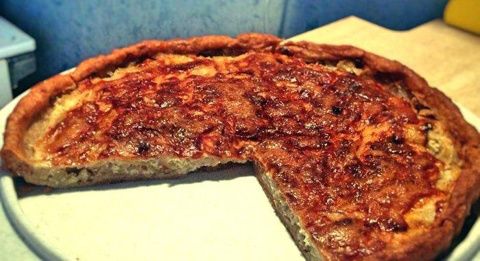 Луковый пирог пошагово