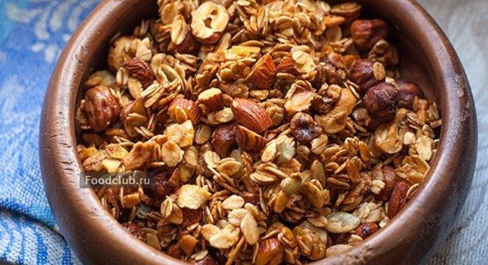 Гранола пошаговый рецепт с фото
