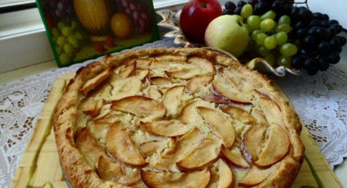 Яблочный пирог цветаевский рецепт с пошагово в духовке