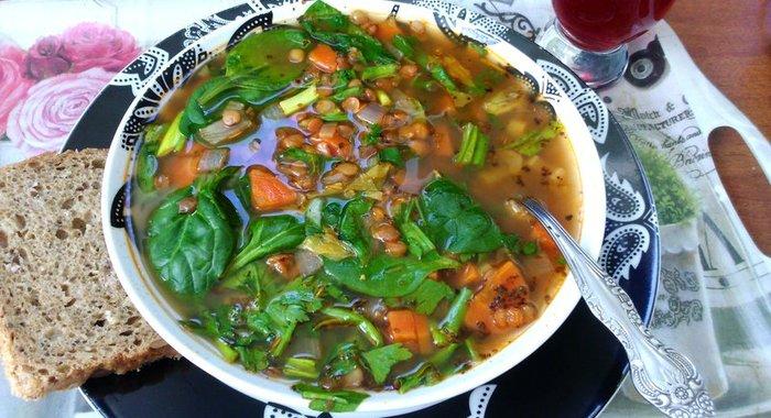 Чечевица зеленая рецепты приготовления с фото