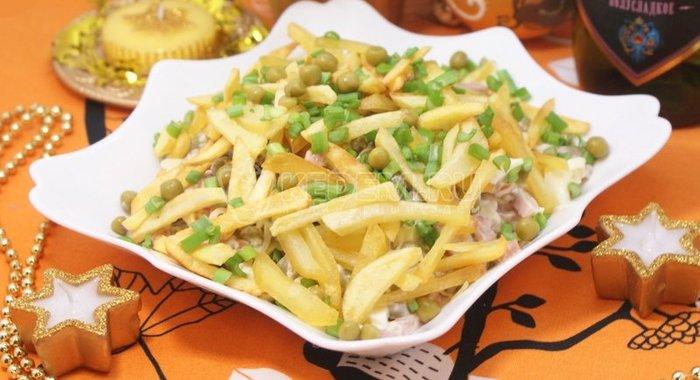 Салат вьюга рецепт пошагово