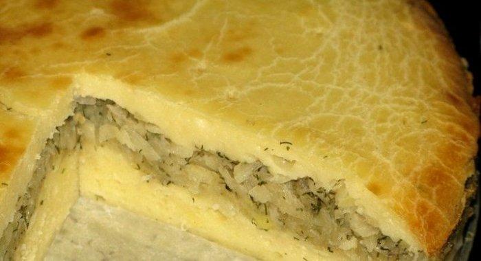 Пирог из картофеля в мультиварке рецепты