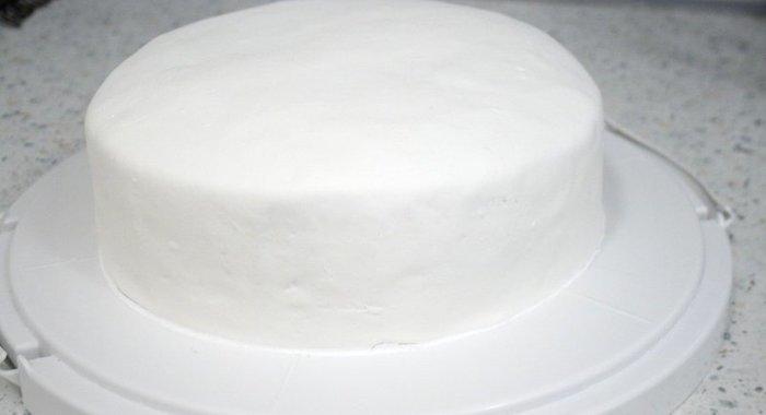 Молочная мастика для торта