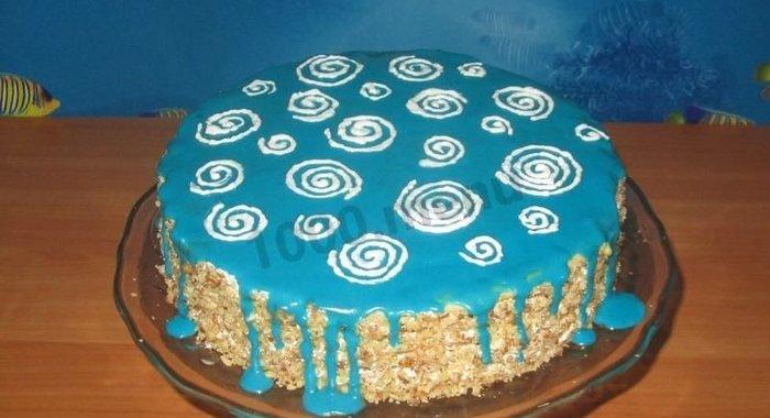 Детский торт на день рождения пошаговый рецепт с