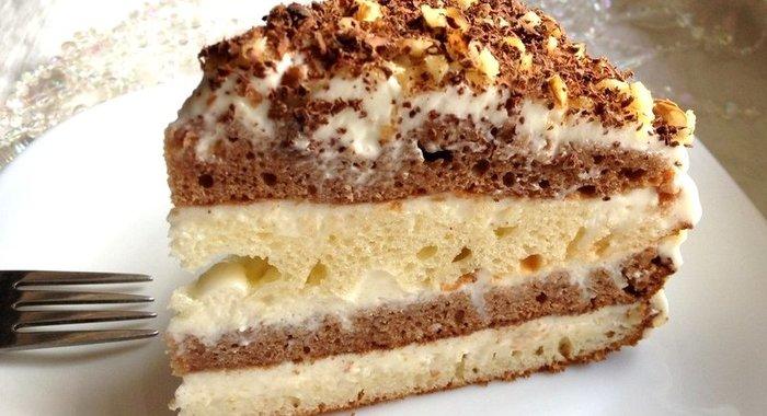 Торт сметанник классический рецепт с пошагово со сгущенкой