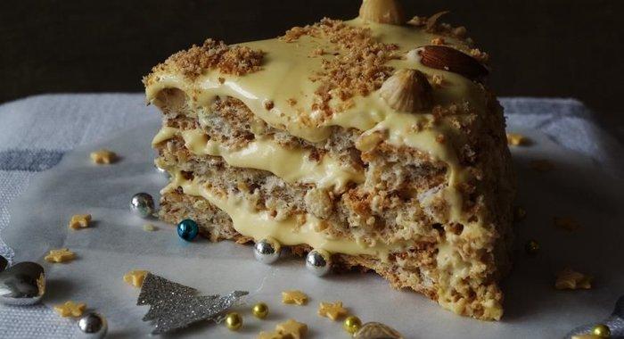 Торт ореховый пошагово