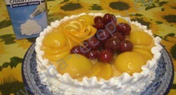 фруктовый торт пошаговый рецепт с фото