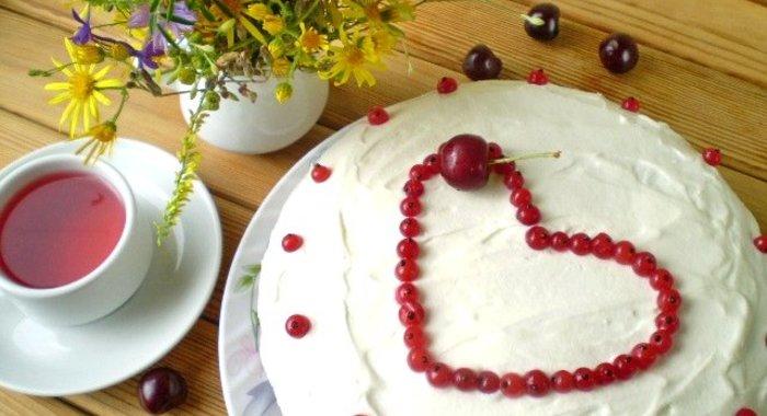 Рецепт торта на день рождения маме