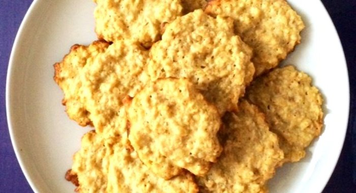 Рецепт низкокалорийного овсяного печенья в домашних условиях