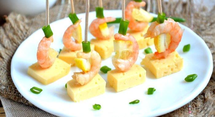 Рецепты канапе с сыром рецепты пошагово