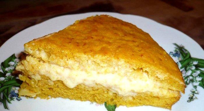 Апельсиновый торт в мультиварке пошаговый рецепт с