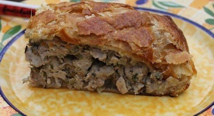 Мясной пирог пошаговый рецепт с