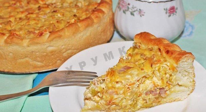 Пироги с квашеной капустой рецепт пошагово в духовке