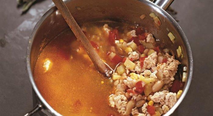 Мексиканский суп пошаговый рецепт