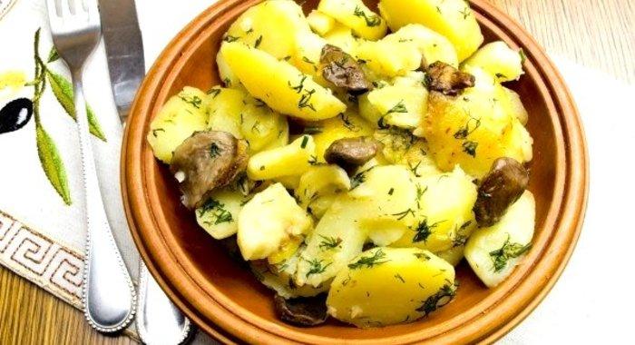 Как сделать в мультиварке картошку с грибами
